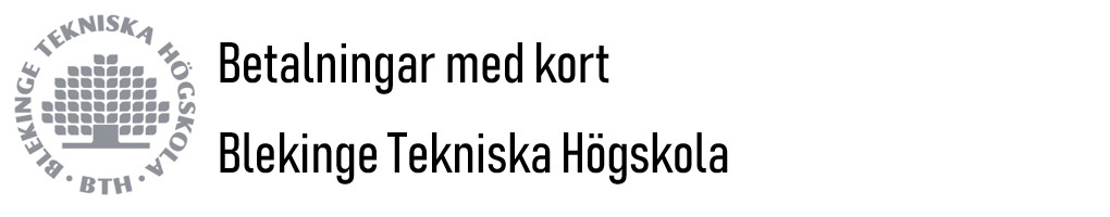 Blekinge Tekniska Högskola - BTH